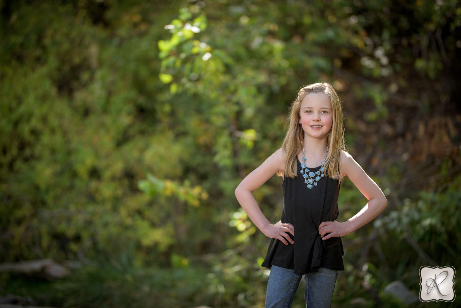 Kids portraits Durango Colorado