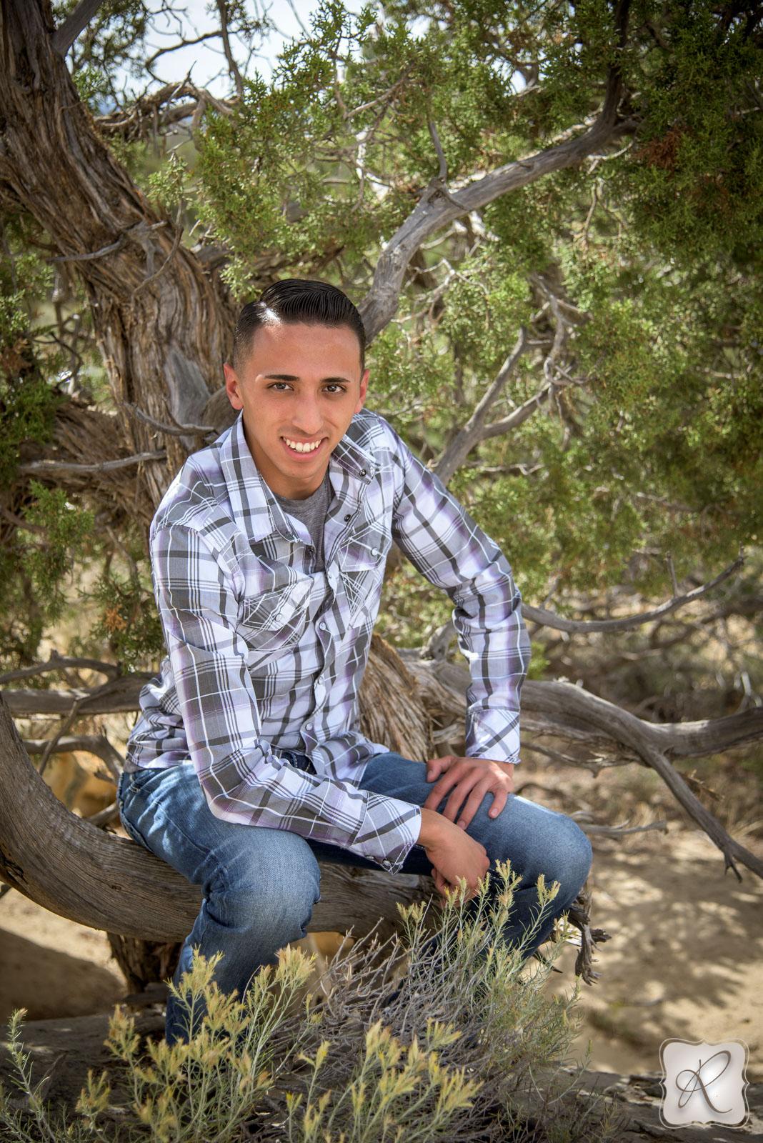 Professional senior portraits Durango Colorado
