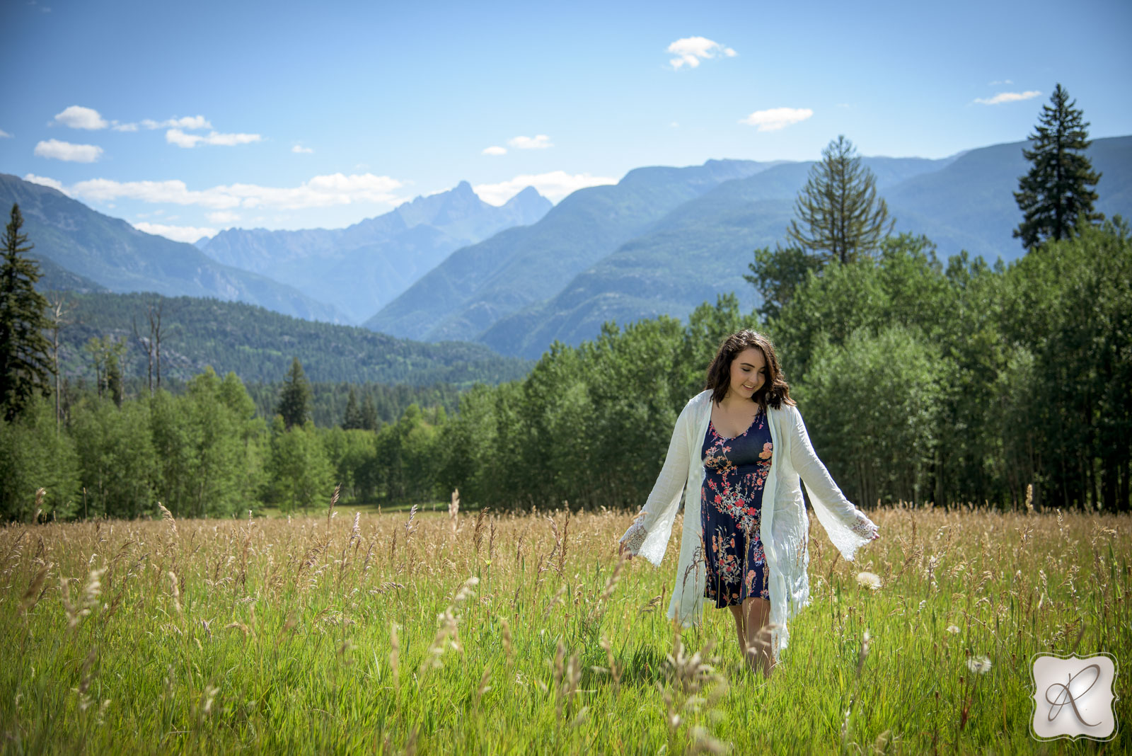 outdoor professional senior pictures Colorado