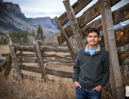 Gabriel Marin's Durango Colorado High School Senior Portraits