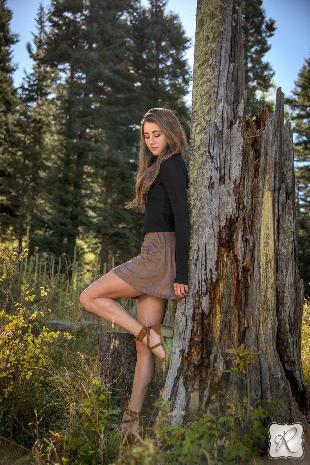 professional senior portraits in Durango, Colorado