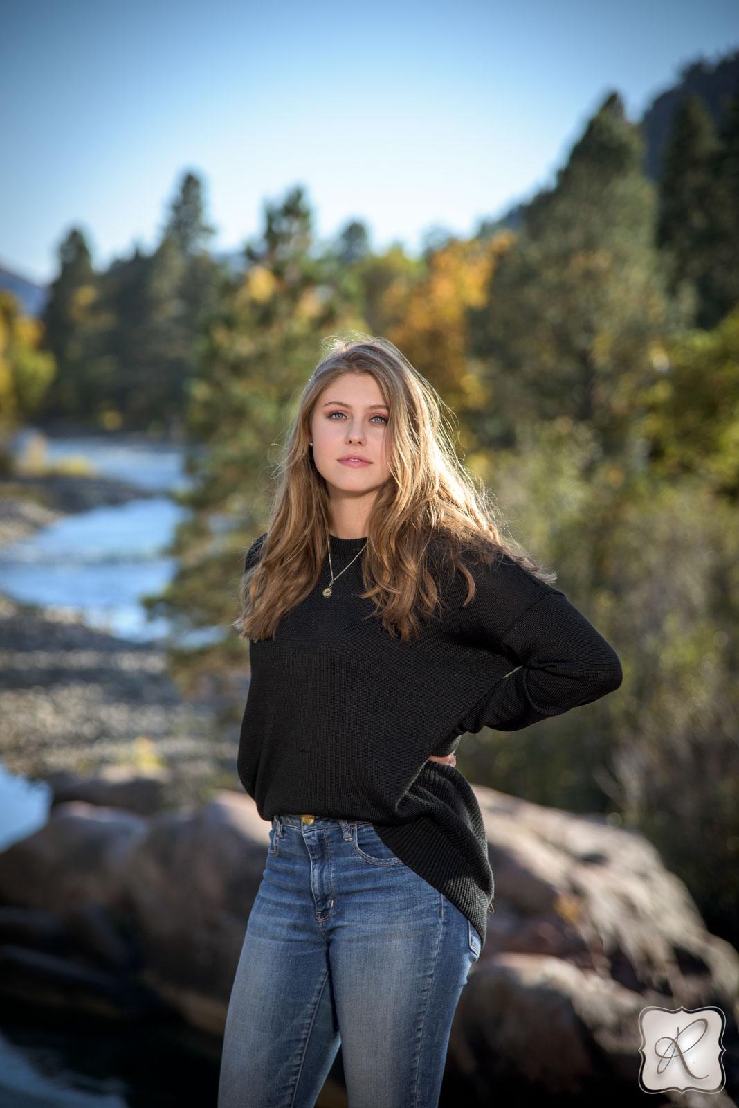 Brooke Mazur U0026 39 S Senior Portraits In Durango  Colorado
