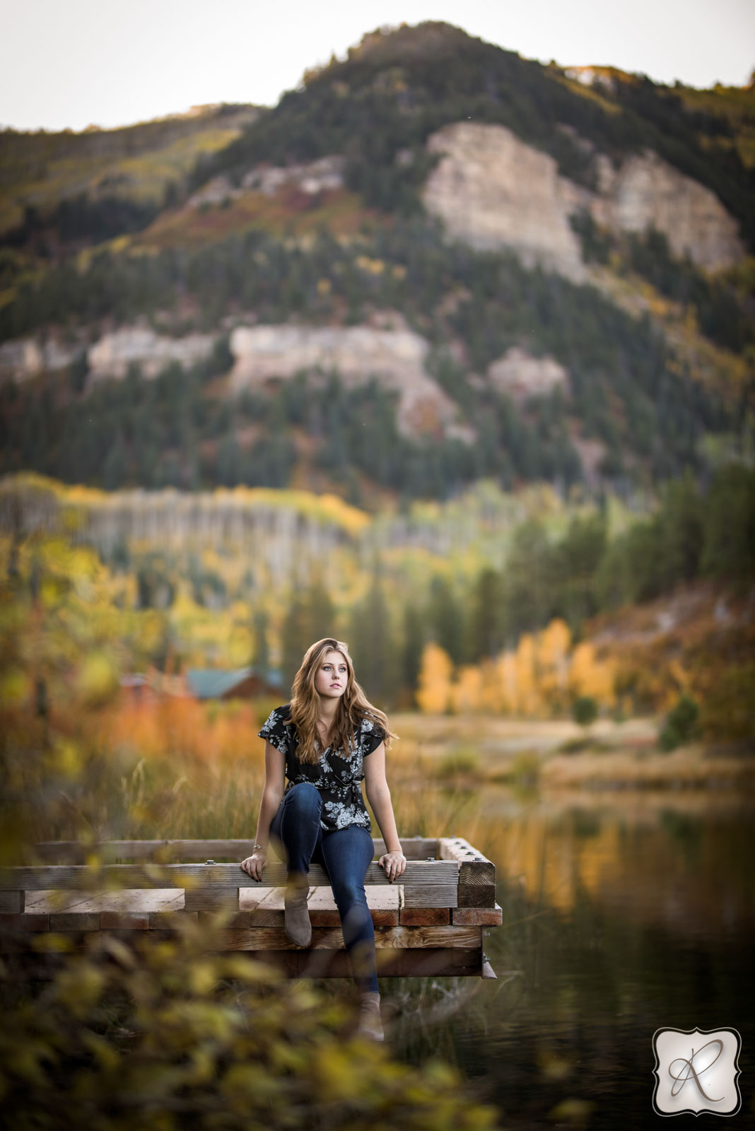 Fall professional senior portraits by Allison Ragsdale Photography