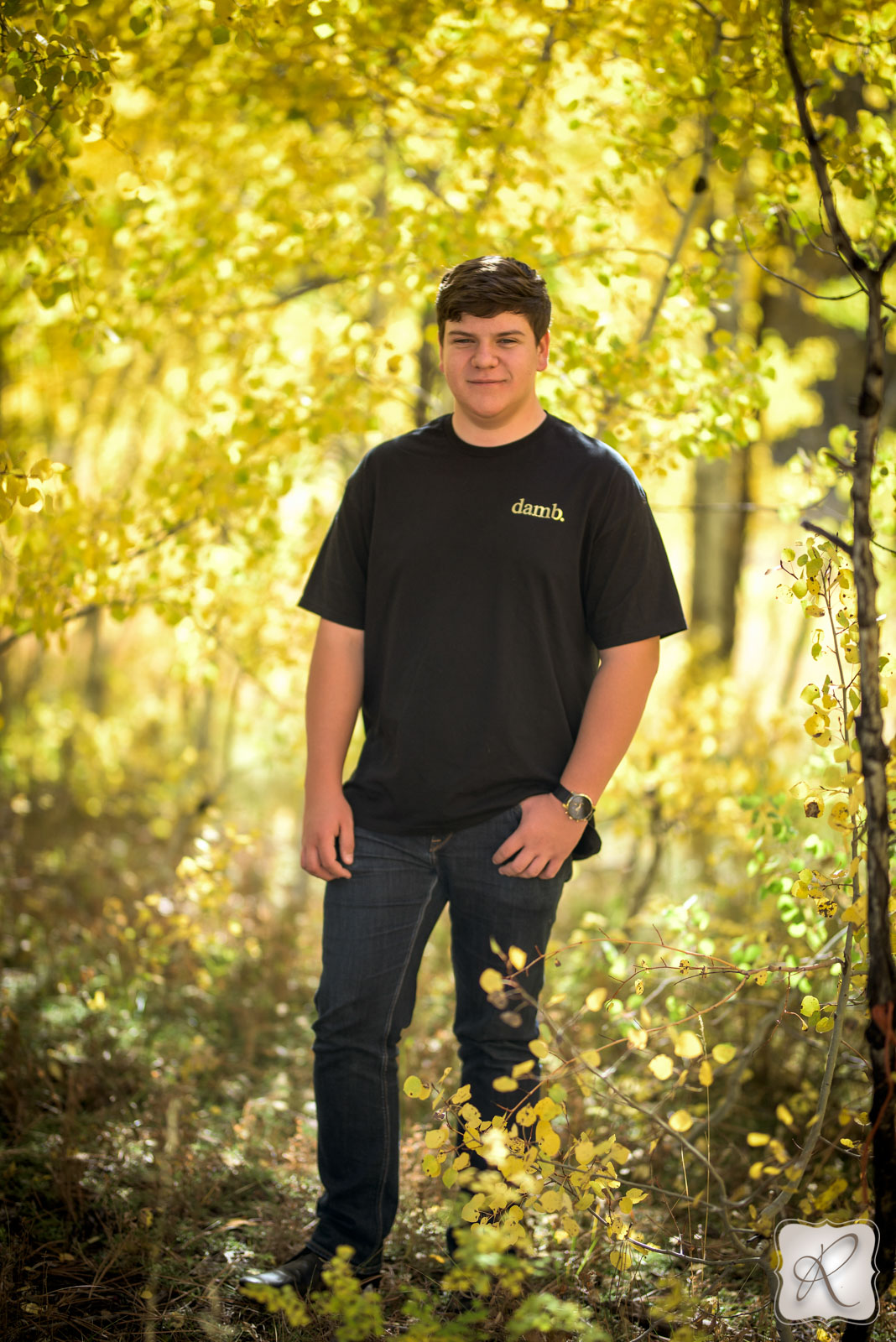 fall professional senior pictures