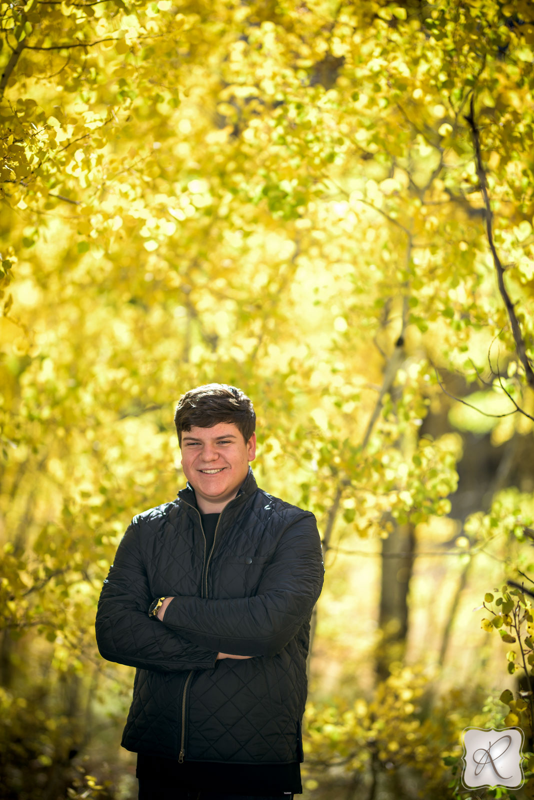 Fall senior pictures in Durango, Colorado