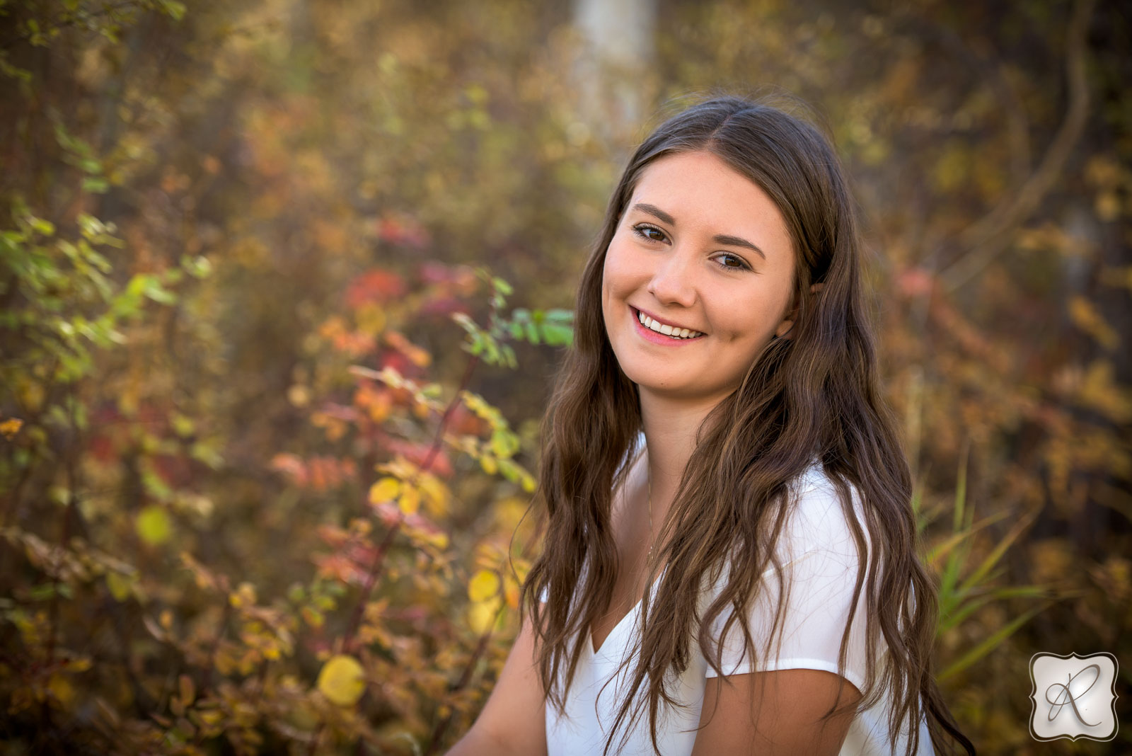Beautiful fall senior portraits by Allison Ragsdale Photography