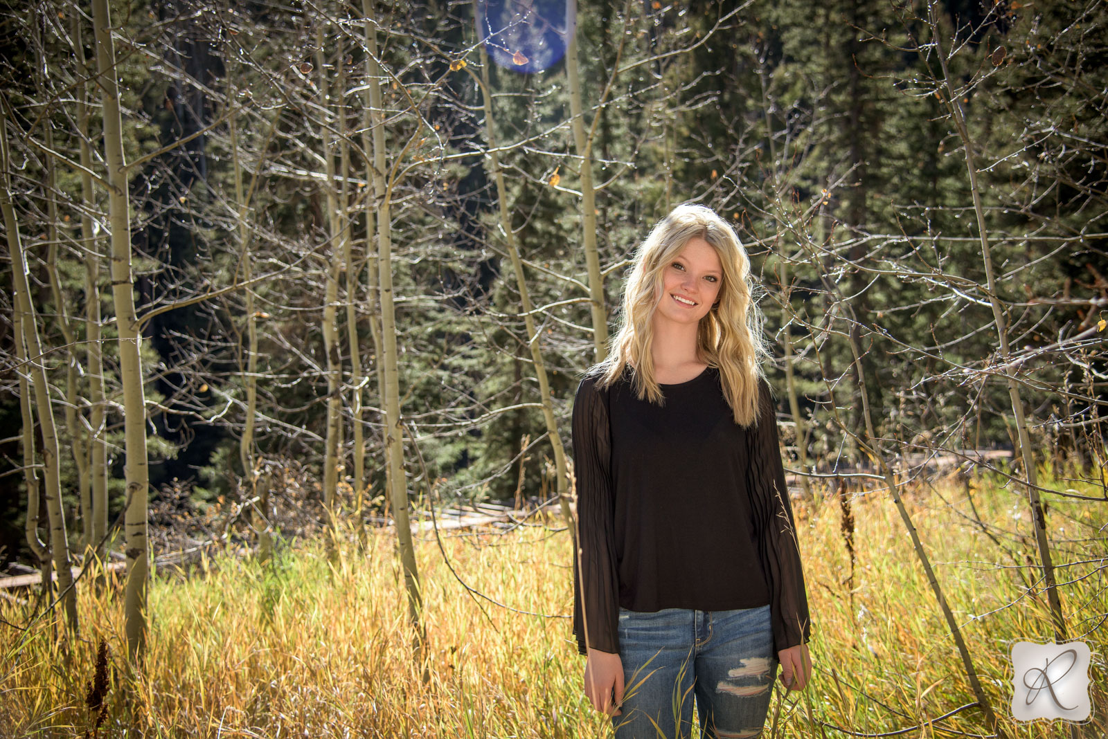 Colorado Senior Portraits Photographed at Purgatory Ski