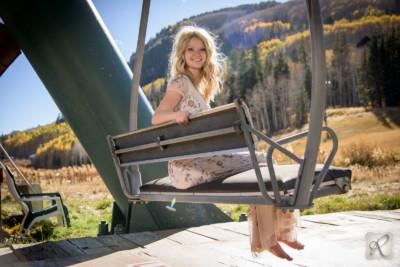 Colorado Senior Portraits Photographed at Purgatory Ski
