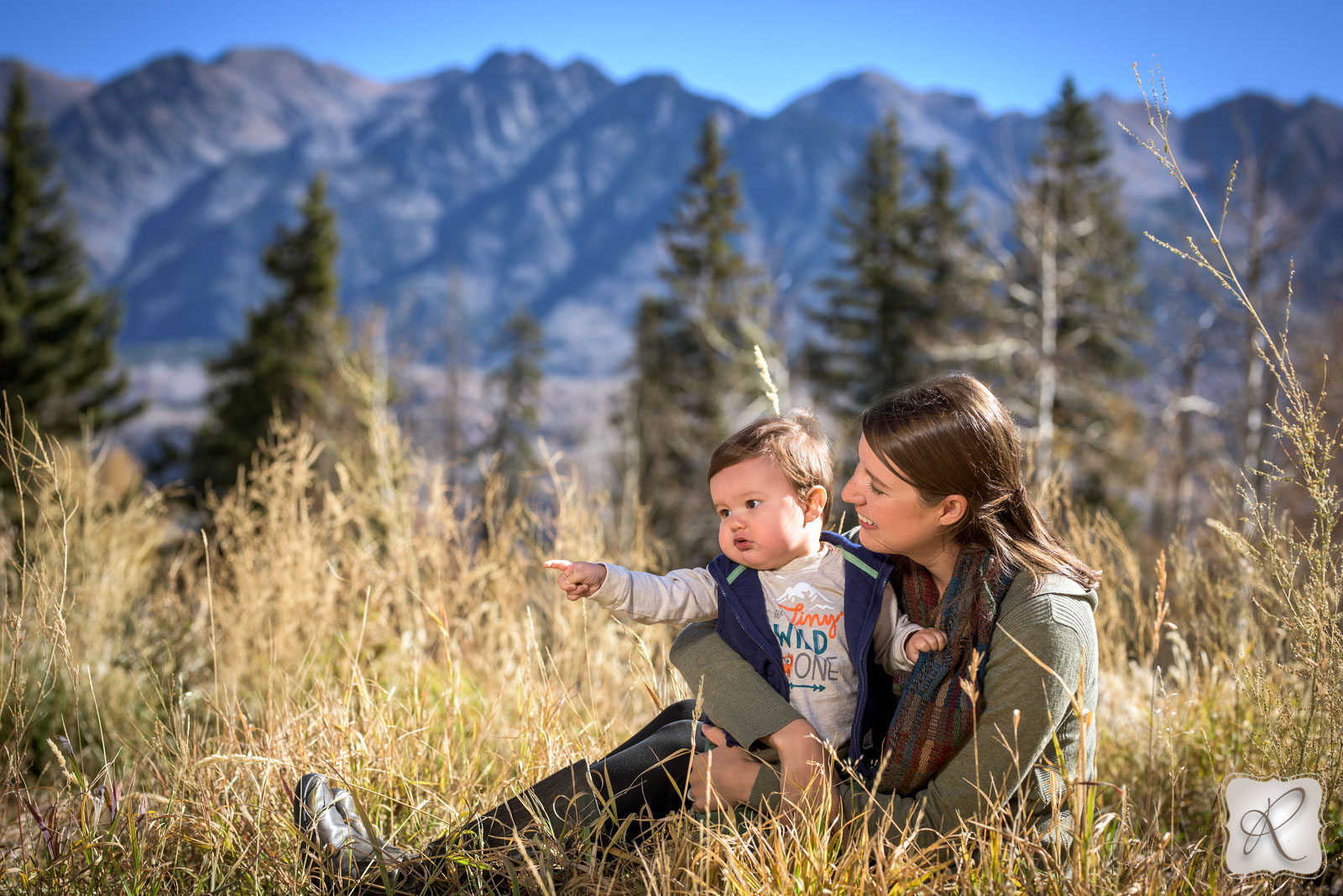 Family photos in Durango Colorado