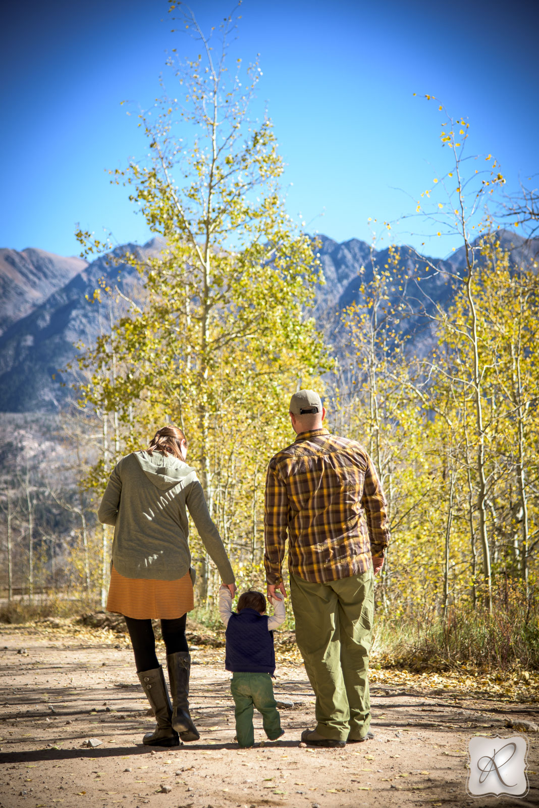 Family portraits in Durango, Colorado