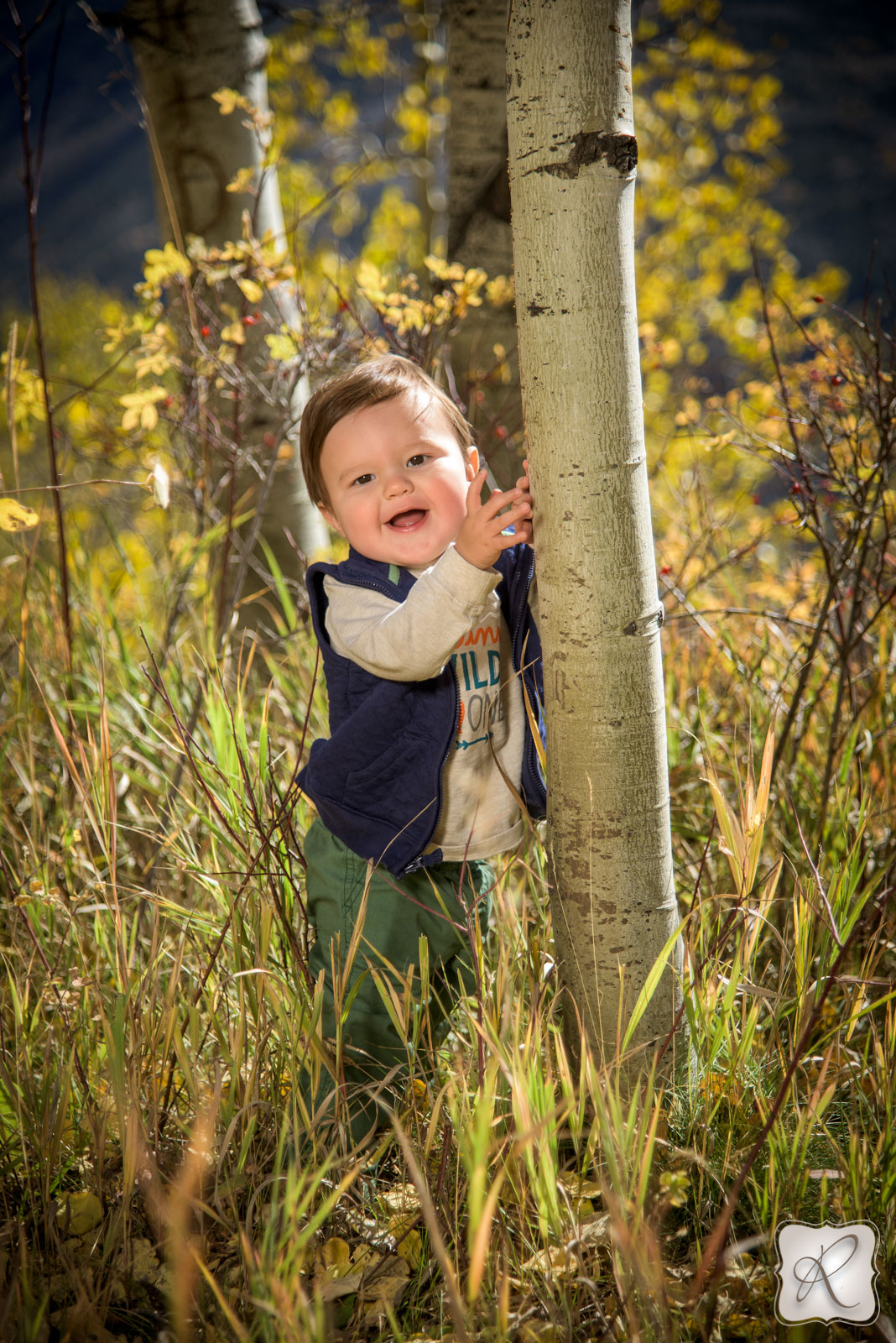Baby portraits in Durango Colorado