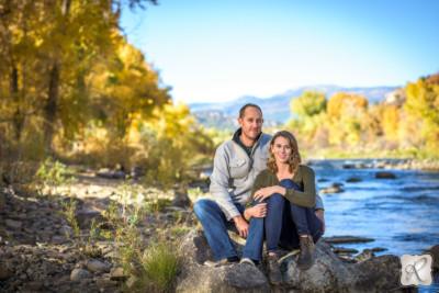 Fall Engagement Portraits Durango