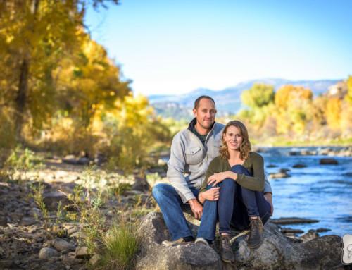 Corinne & Cale's Durango Colorado Engagement