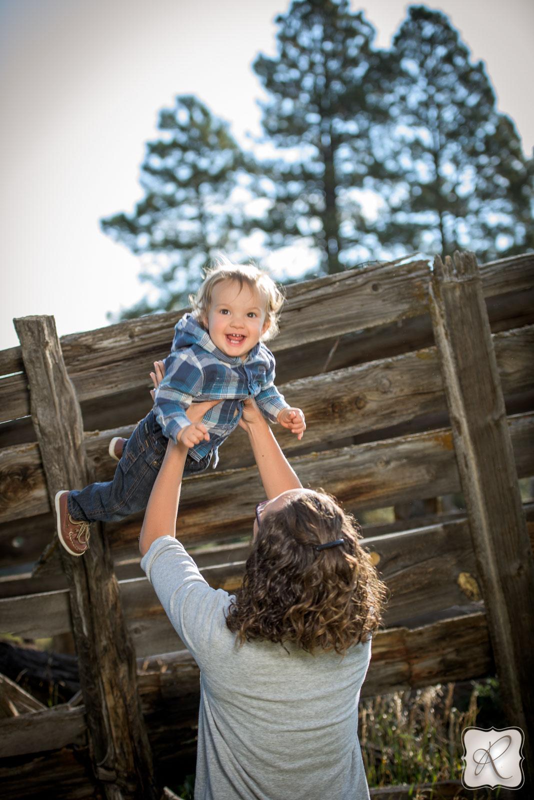 professional family portraits in Durango Colorado