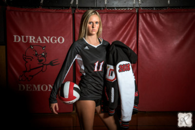 Durango High School Volleyball Portraits