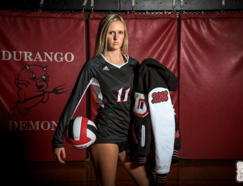 Brianna Brown's Durango High School Volleyball Portraits