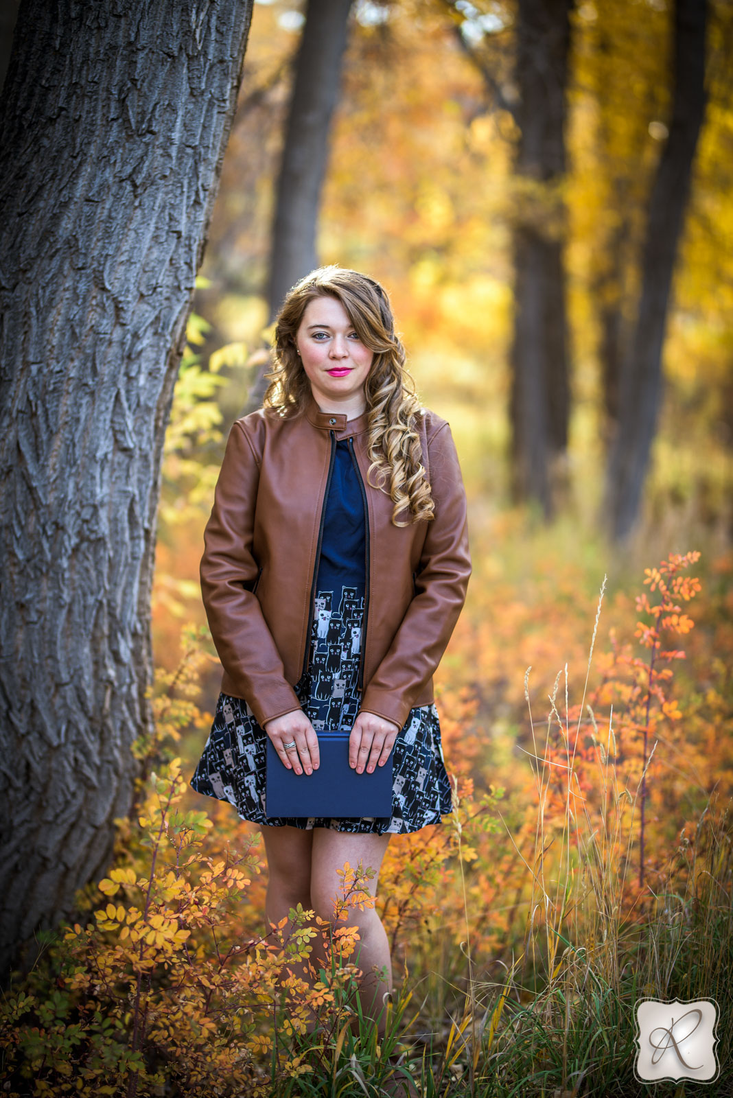 outdoor senior portraits Durango Colorado