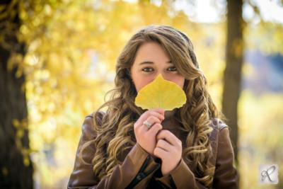 cute fall professional portraits in Durango, Colorado