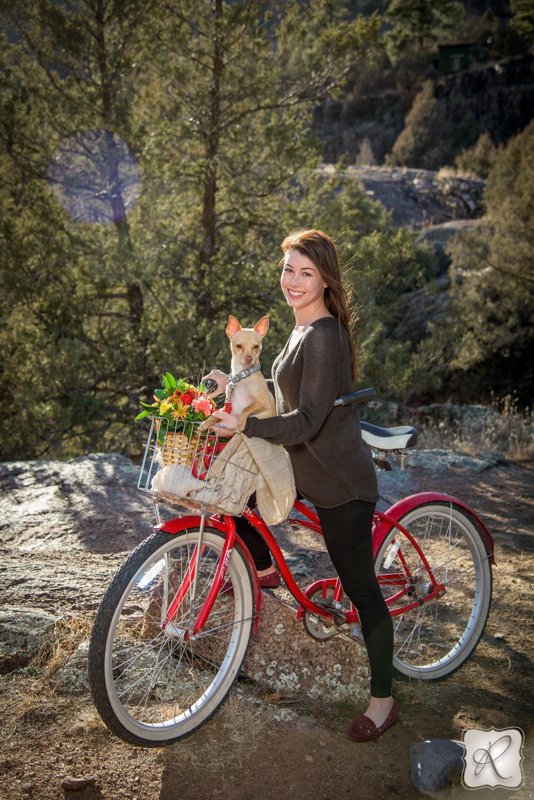 cute outdoor photos in Durango Colorado
