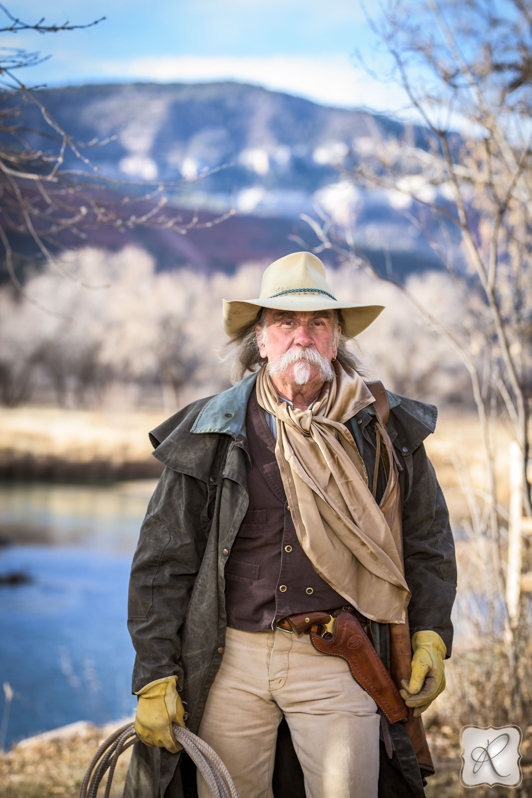 Western Headshots in Durango Colorado Photographed by Allison Ragsdale Photography