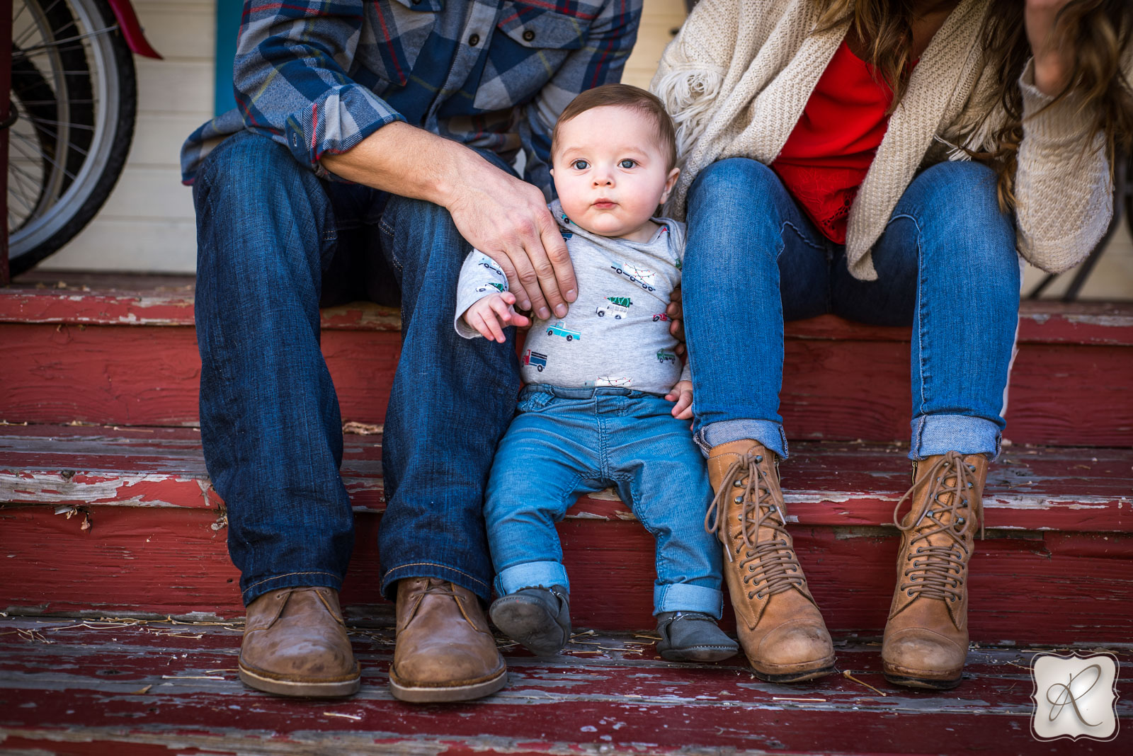 christmas holiday baby pictures by Allison Ragsdale Photography