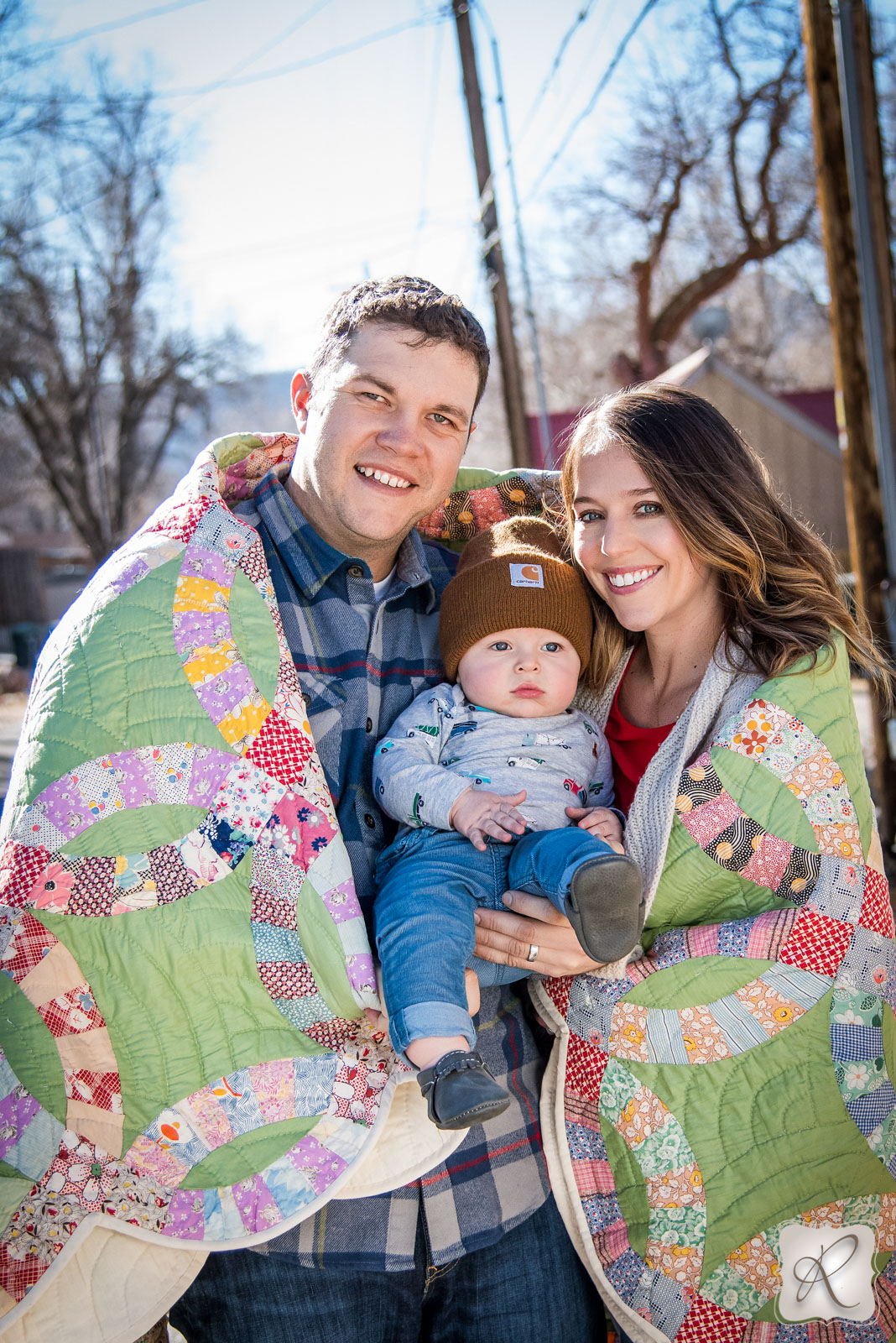 professional family portraits by Allison Ragsdale Photography in Durango, Colorado