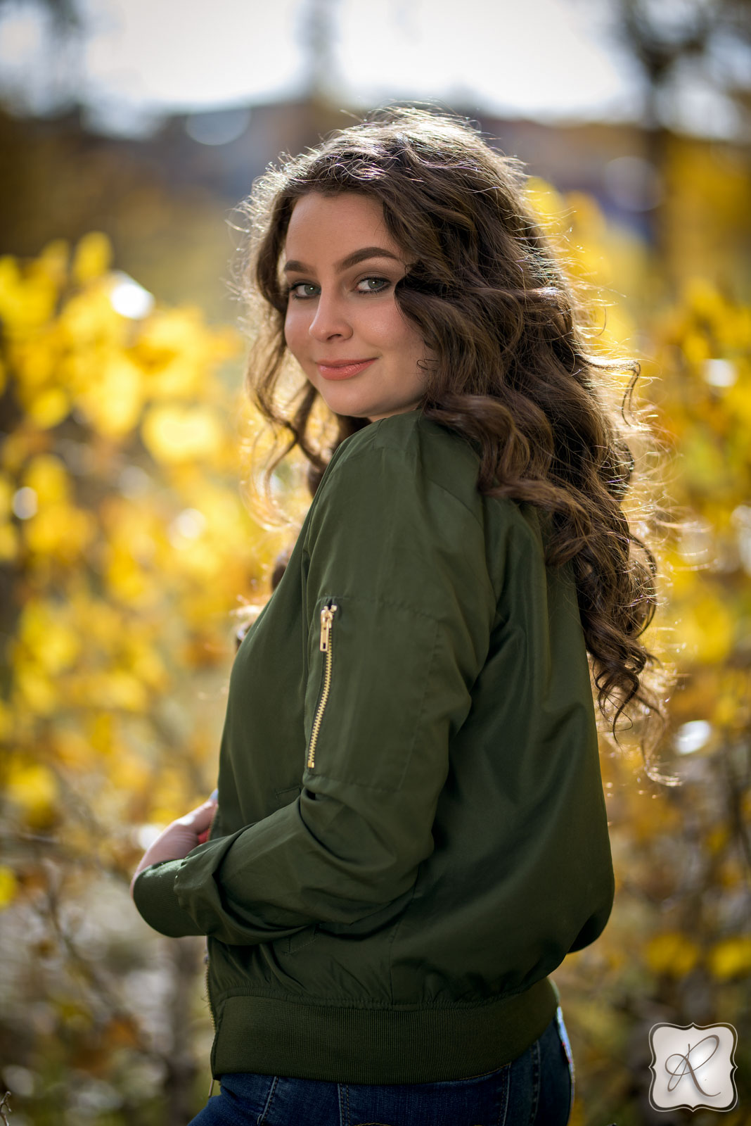 fall senior portraits in Durango Colorado
