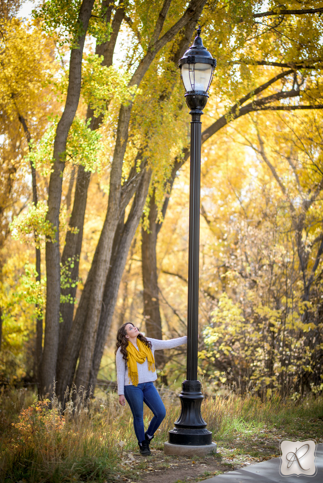 professional outdoor senior pictures Durango Colorado