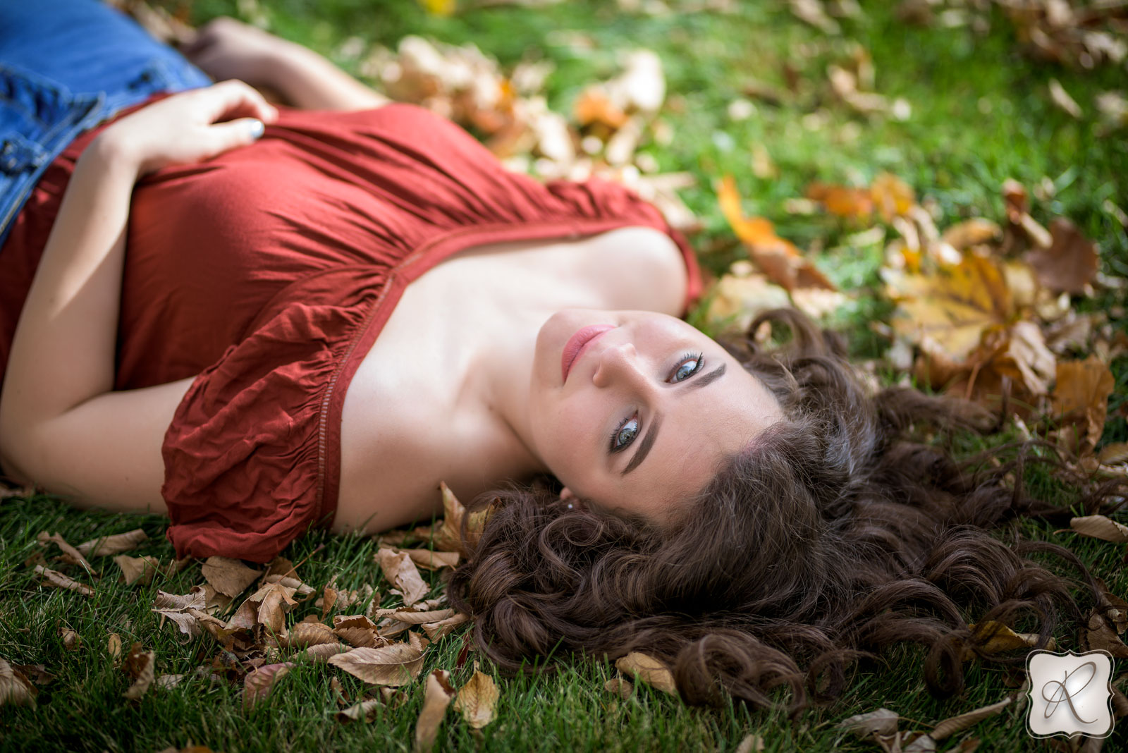 fall professional senior pictures in Durango Colorado