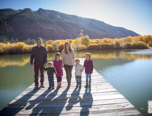 Martin Family Portraits in Durango Colorado
