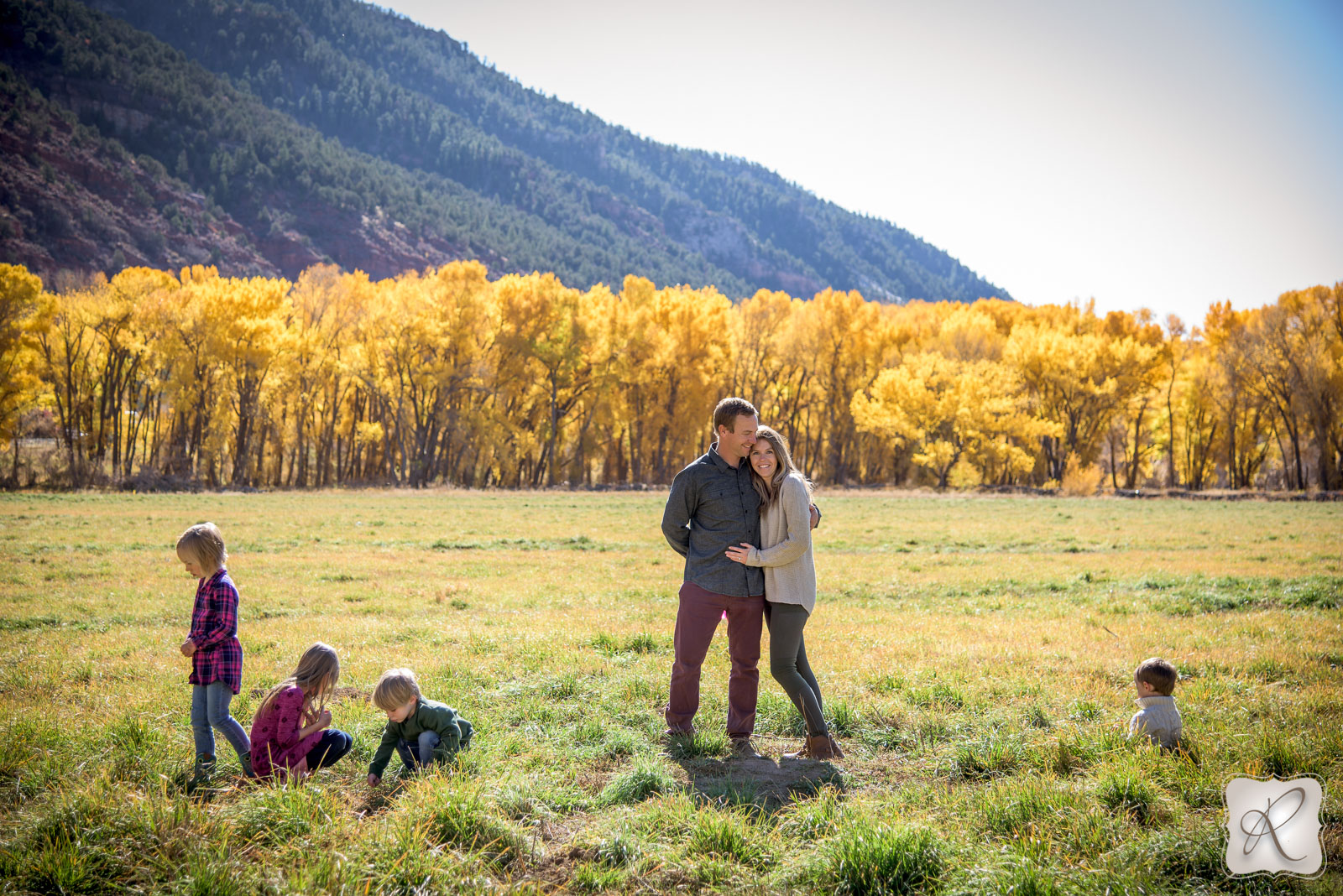 Fall Family Portraits in Durango