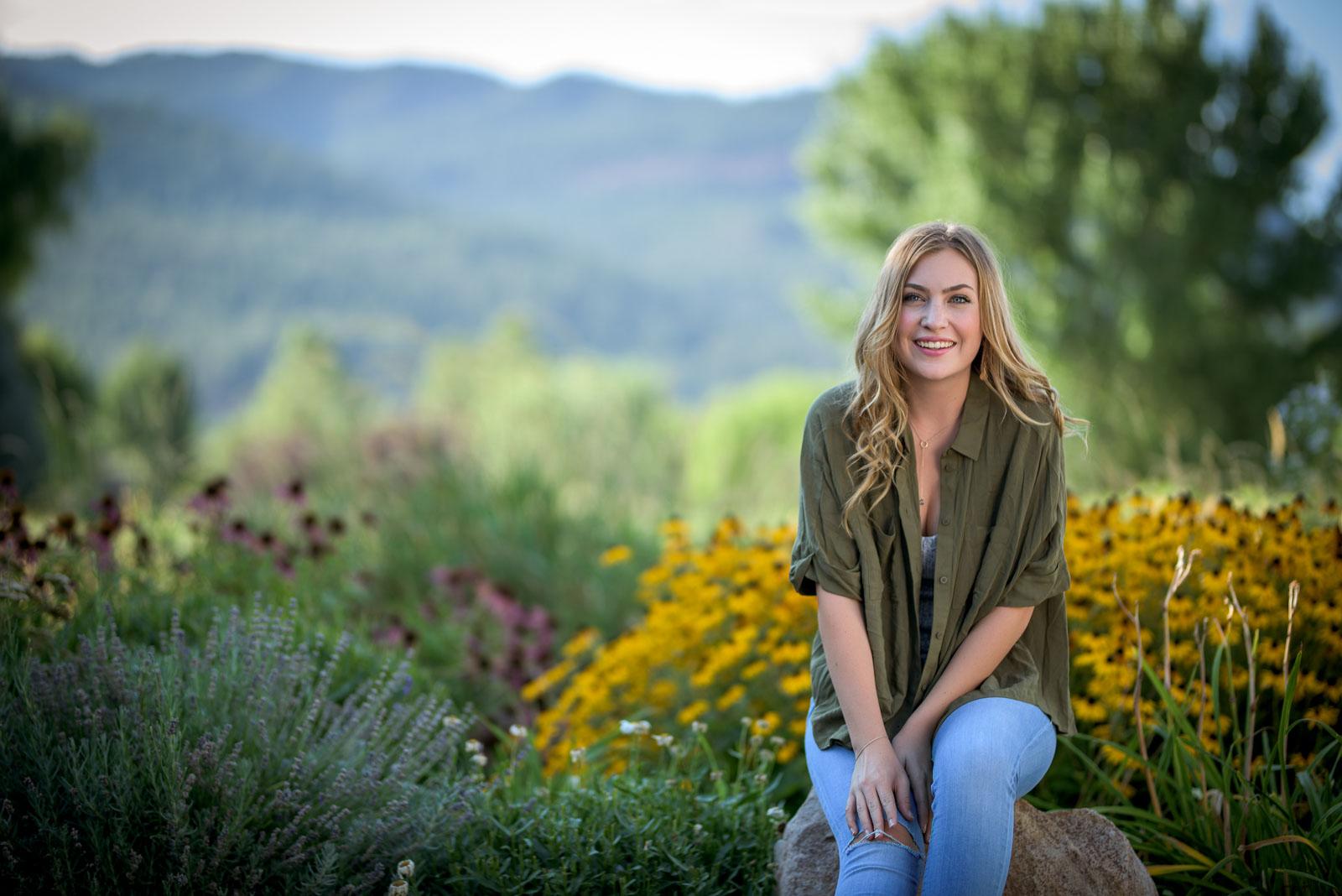 Durango Colorado Senior Portraits