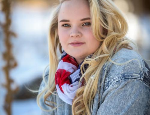 Hallie Malberg's Durango Colorado High School Senior Portraits