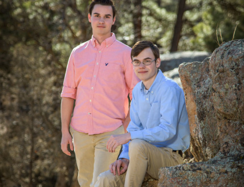 Todd & Mark Laffaye's Durango Colorado Senior Portraits