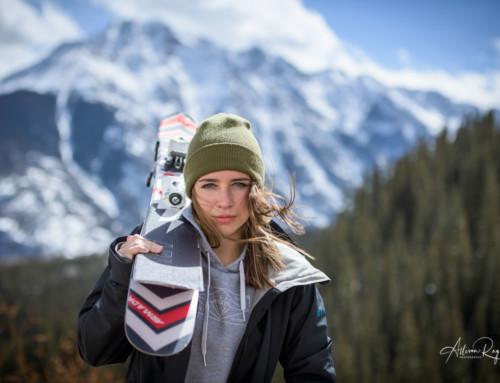 Jenna Beckley Ski Shoot Durango Colorado