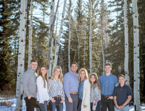 Mann Family Portraits in Durango Colorado