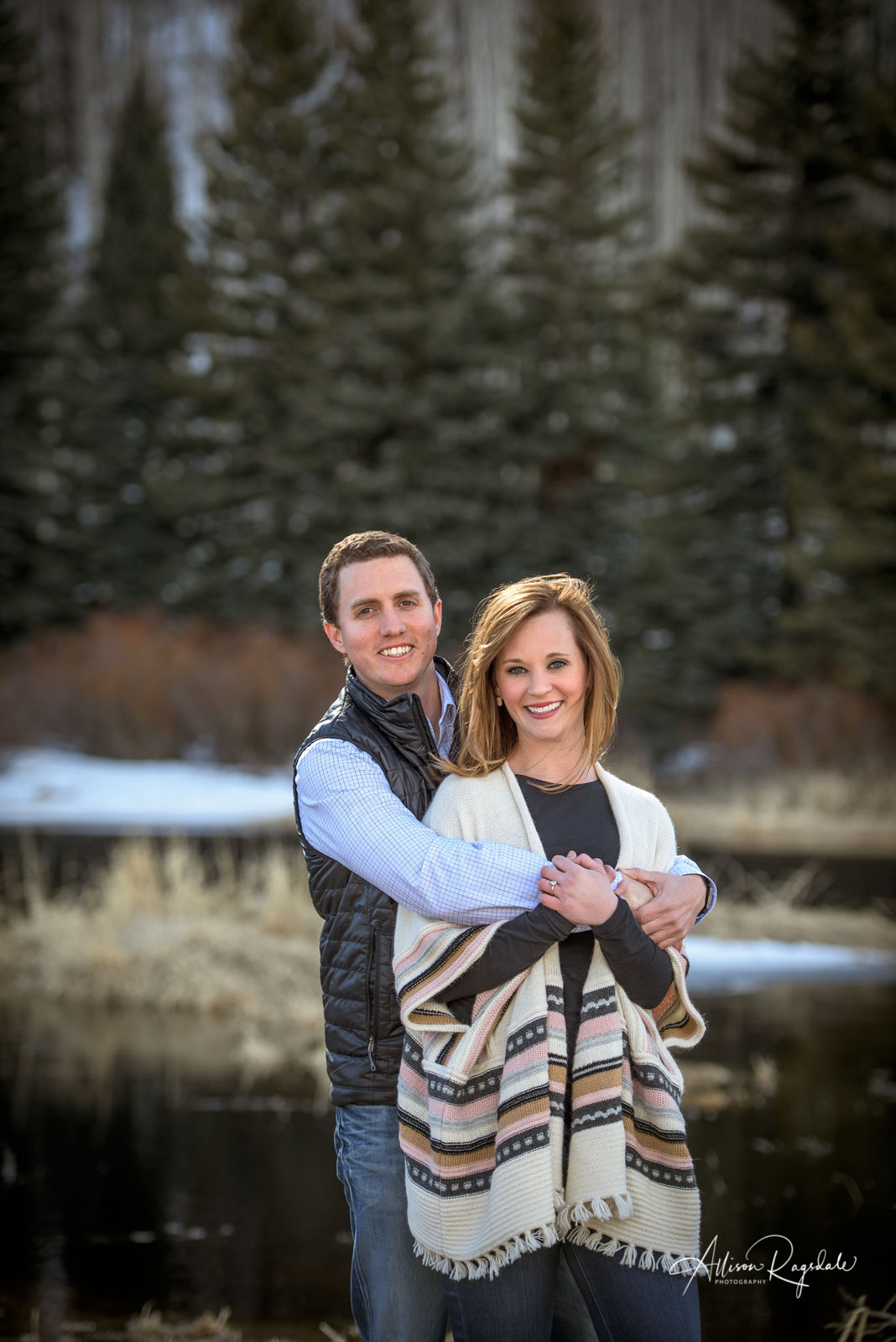 Becky & Russell's Durango Colorado Winter Engagement Session