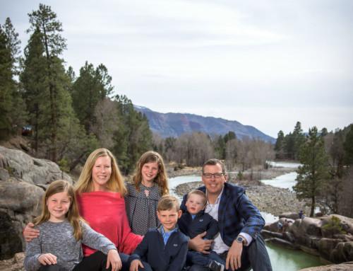 The Clair Family Portraits in Durango Colorado