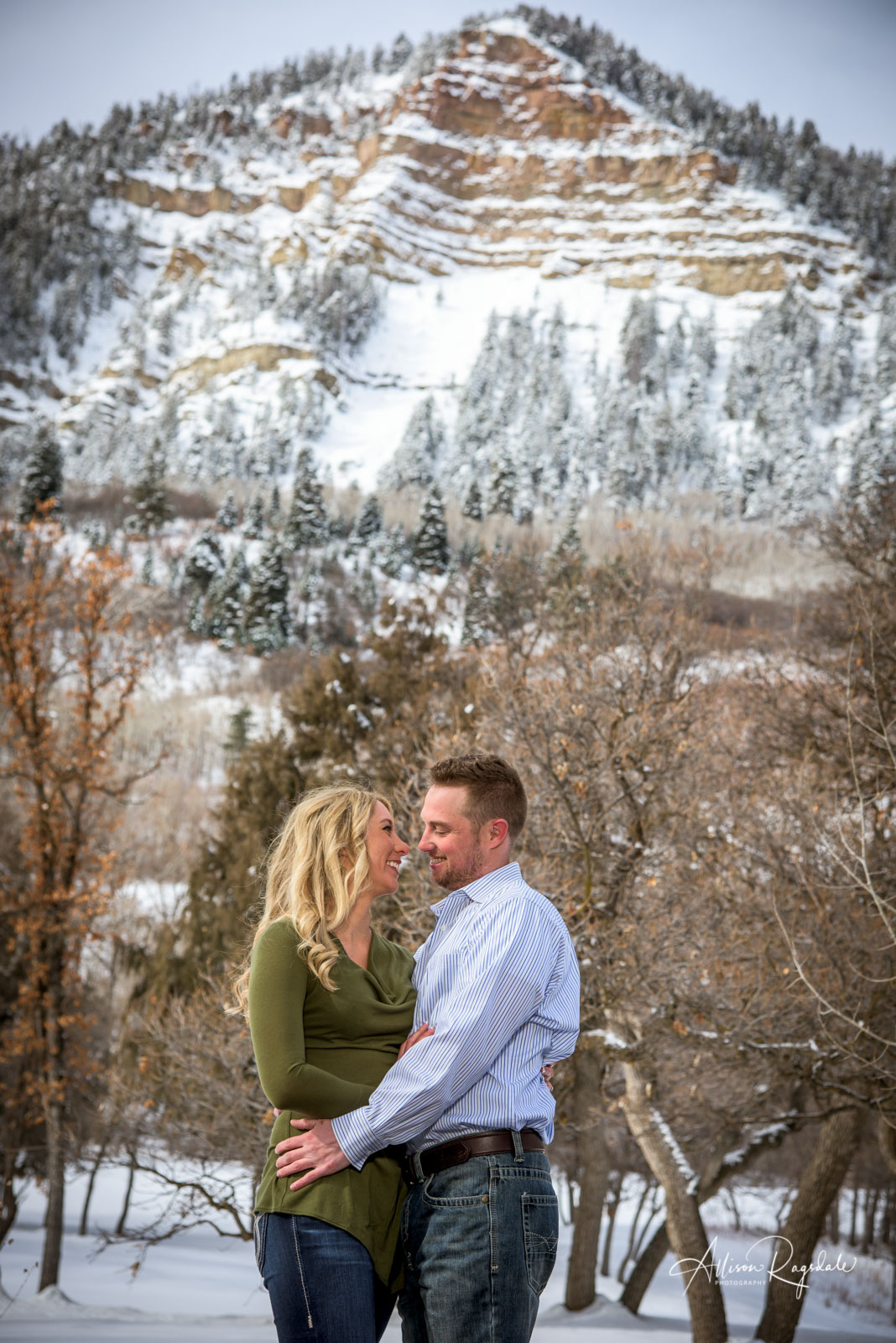 Jessie & Ryan's Durango Colorado Engagement Portraits