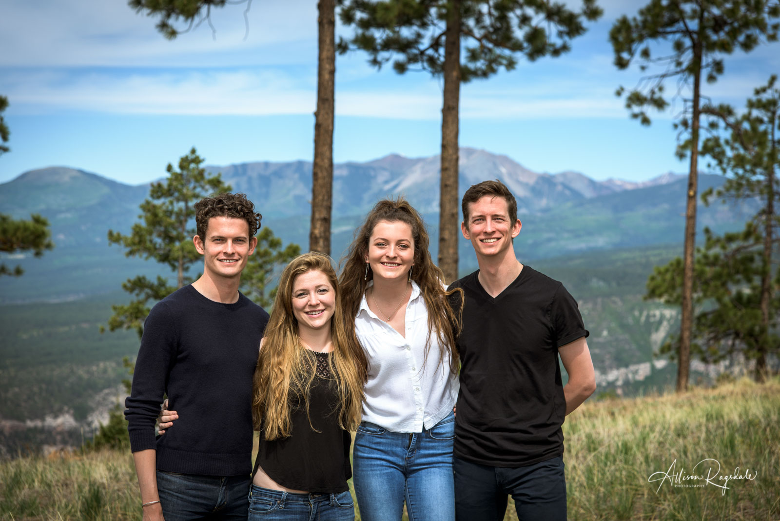 Family portraits by Allison Ragsdale Photography in Durango Colorado