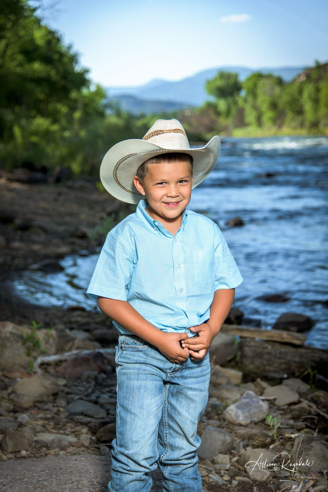 professional outdoor portraits in Durango Colorado