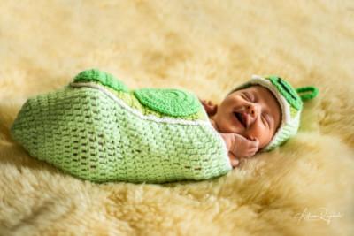 Creative and adorable newborn pictures in Durango Colorado