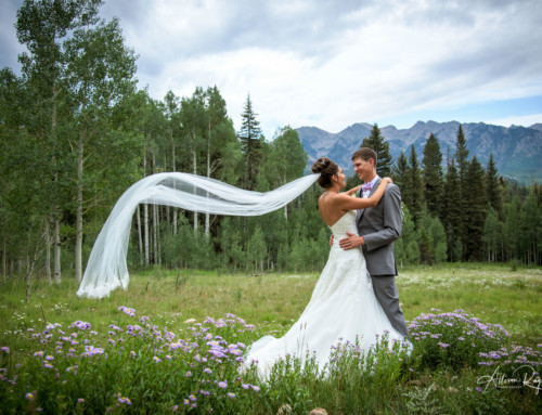 Morgan & Kelly's Cascade Village Wedding in Durango Colorado