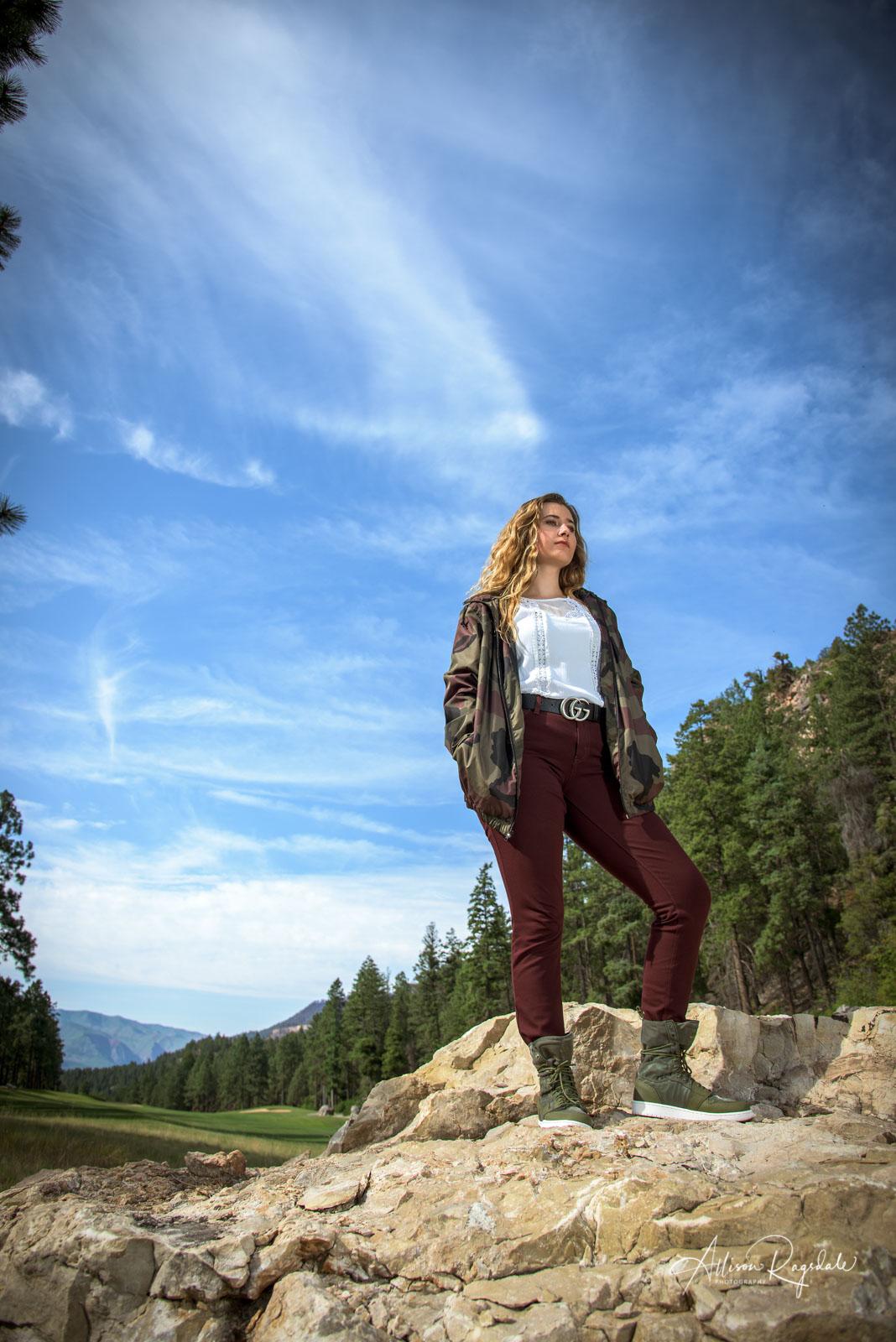 Durango CO Senior Photographer