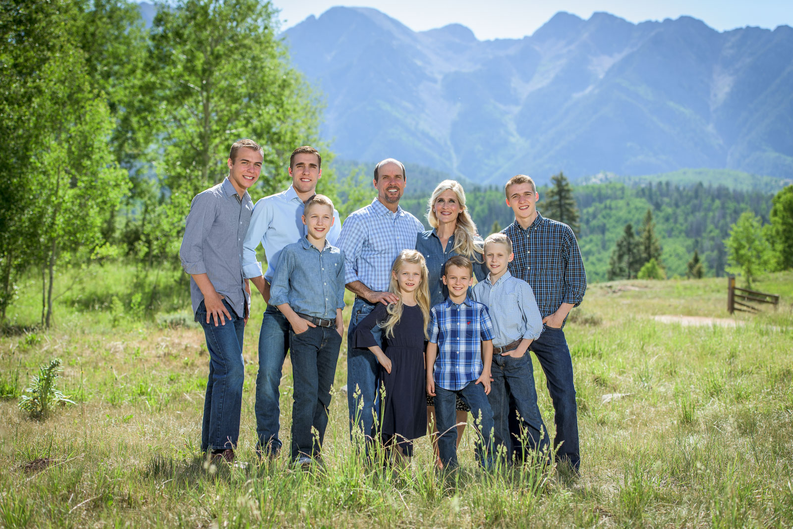 Summer Family Portraits in Durango