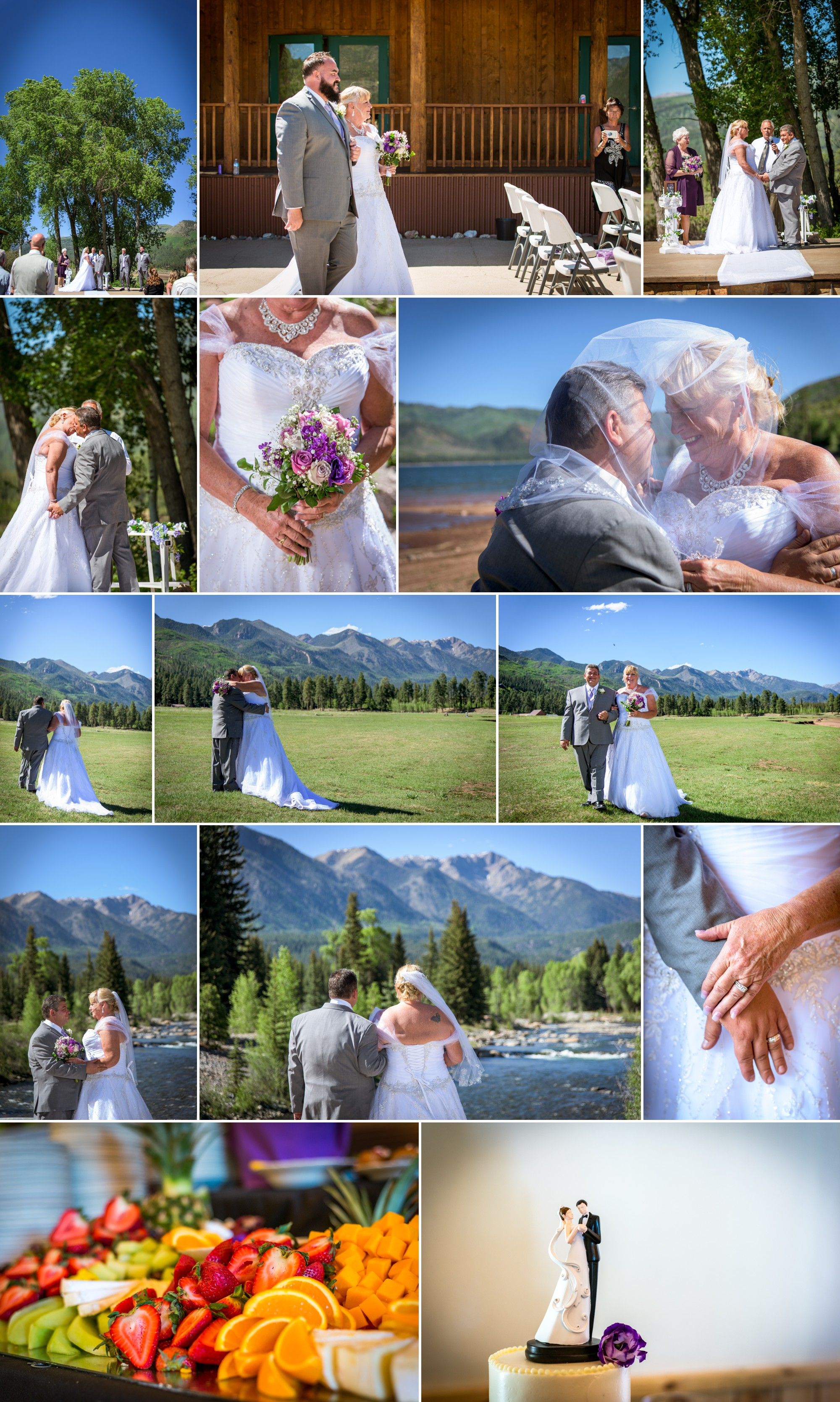 Wedding Photographed by Allison Ragsdale Photography in Durango CO Summer Wedding