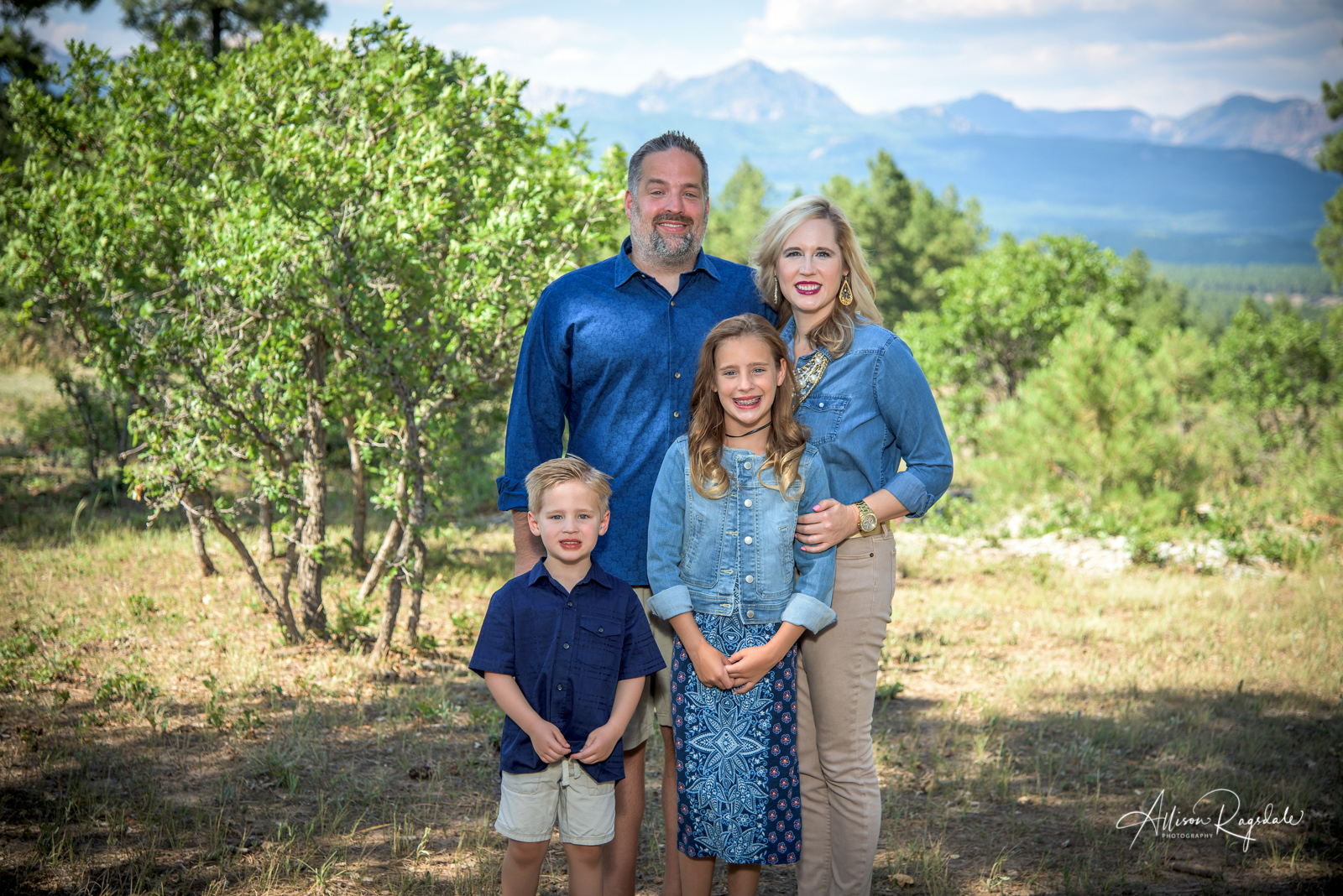 professional family portraits in Durango Colorado