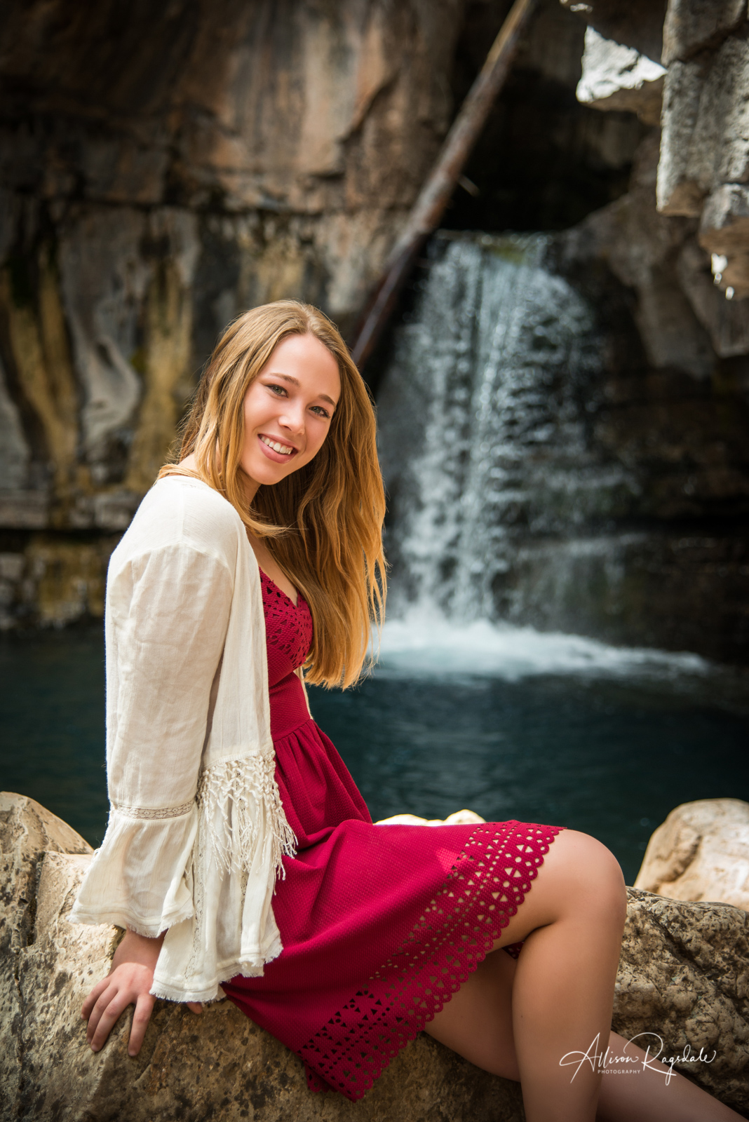 outdoors senior photography in Durango Colorado