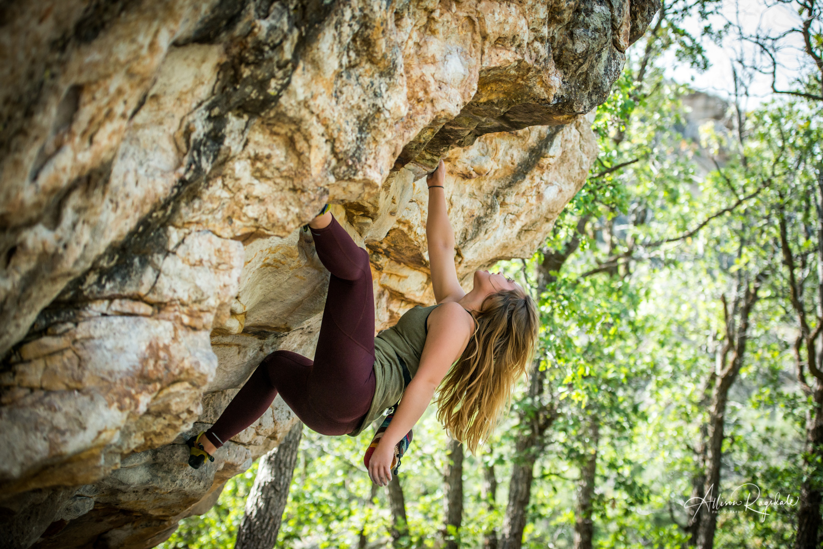 seniors climbing adventure portraits in Durango Colorado by Allison Ragsdale Photography
