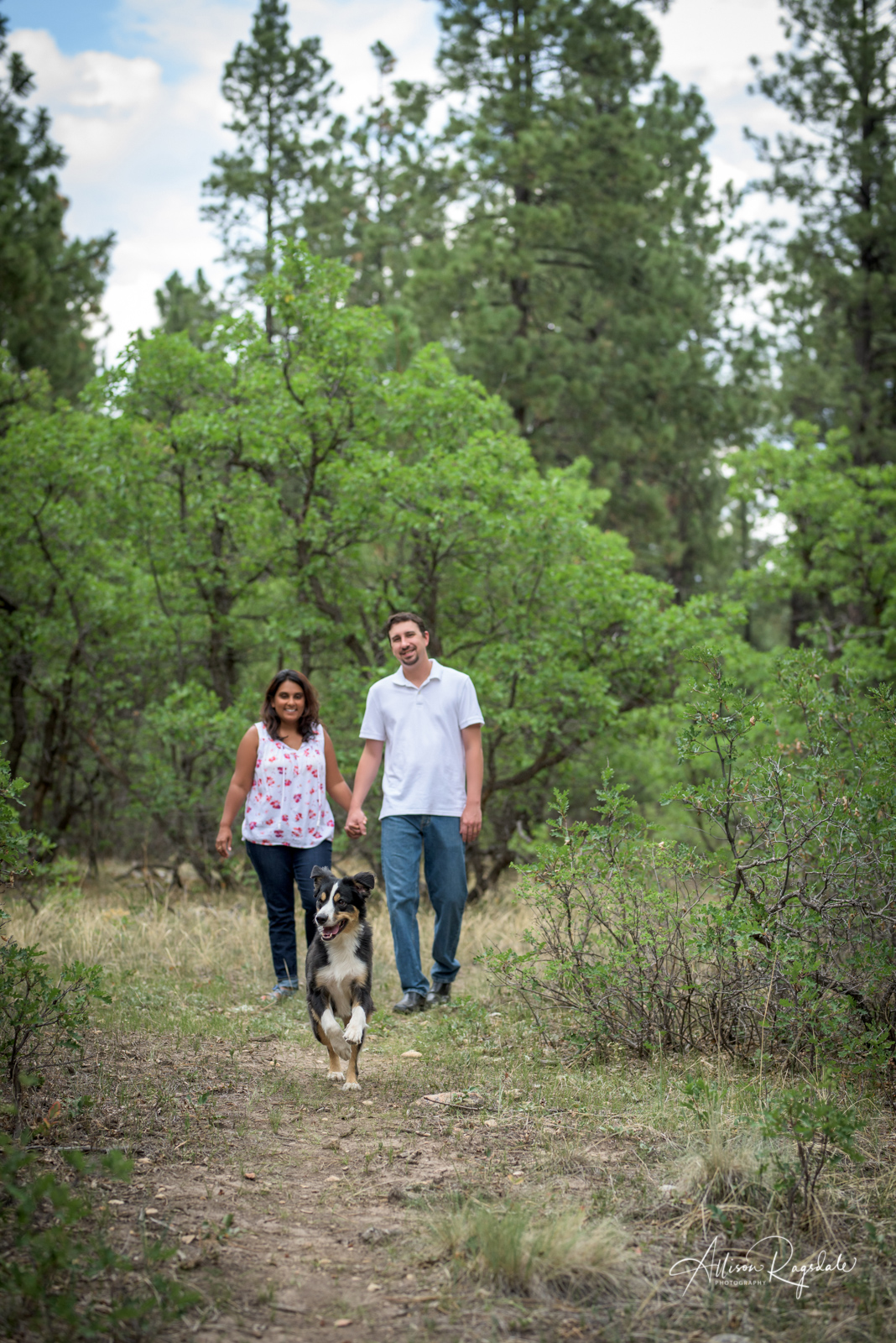 family portraits with dog by Allison Ragsdale Photography